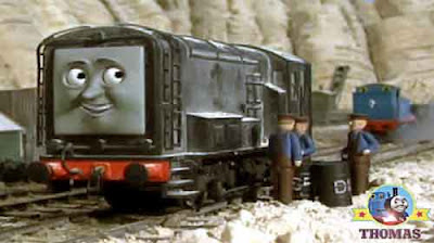 Thomas and friends Diesel and Mavis the tank engine bad fuel drained out of their railway engines