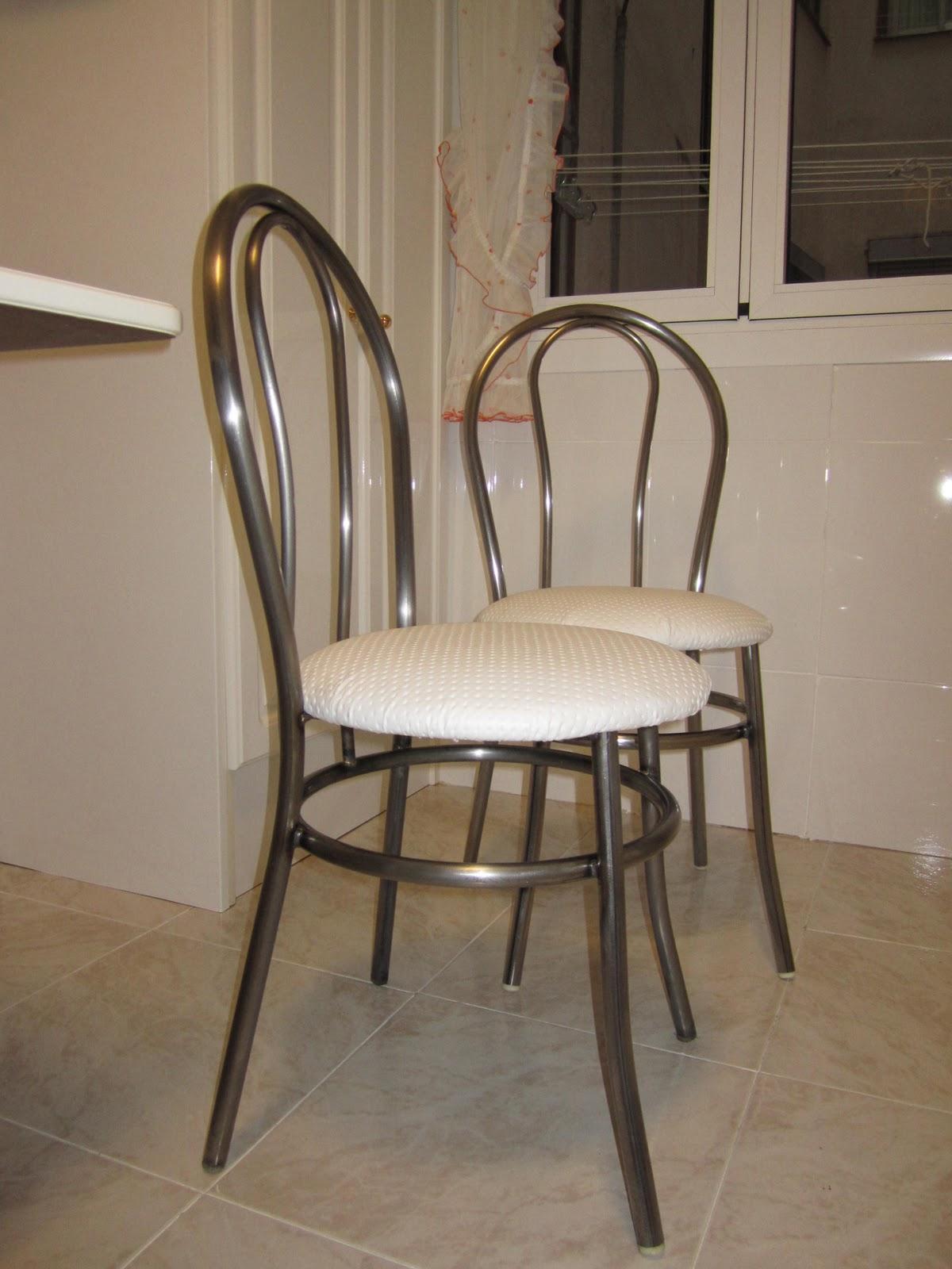 Hoy me he dado cuenta sillas de cocina - Sillas restauradas ...