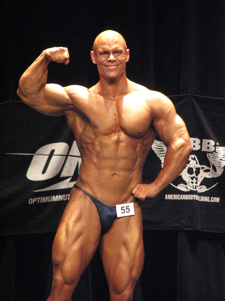 Worldwide Bodybuilders: Bald muscle gods