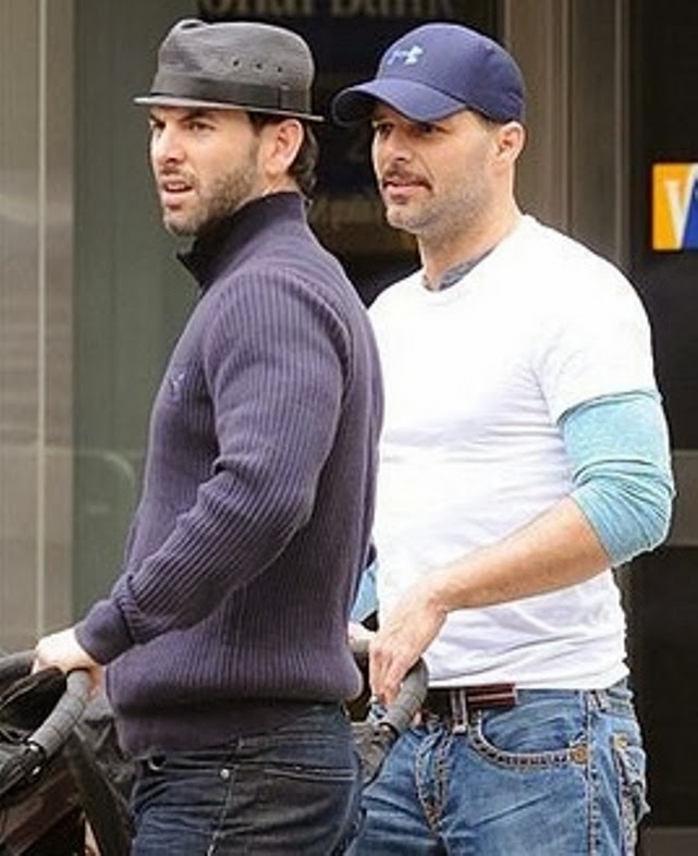 Ricky Martin and his Boyfriend break upRicky Martin 2013 Boyfriend