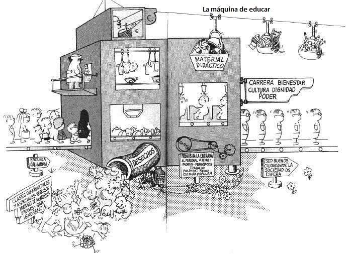 La máquina de la escuela