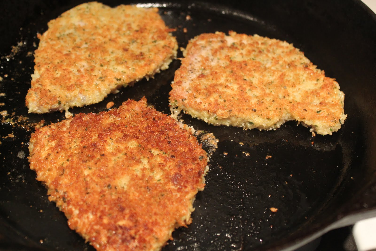 Near to Nothing: Breaded Pork Chops