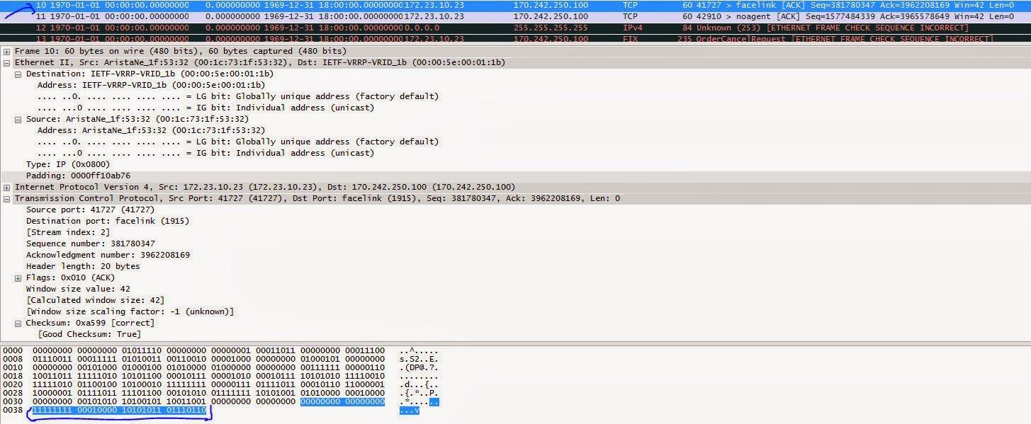 IT Blogtorials: Decoding TimeStamping on Arista 7150