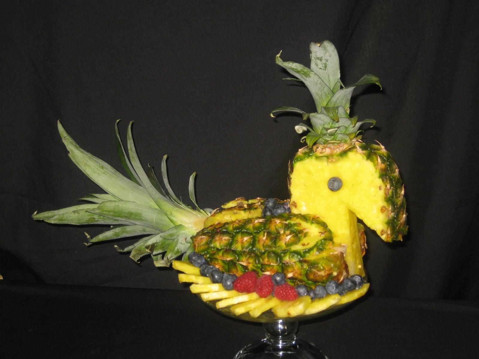 Fruit platter can say it june