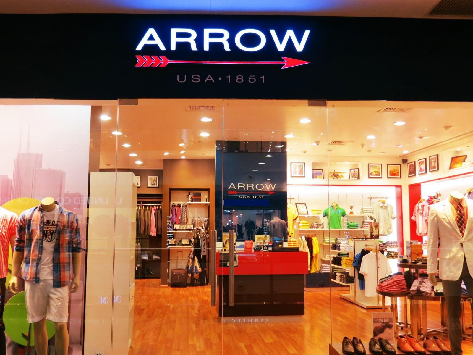 Arrow clothing store