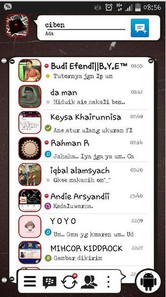 BBM Mod Ciben v2.7.0.23 Android