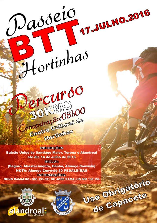 PASSEIO DE BTT EM HORTINHAS (INSERIDO NAS FESTAS DE VERÃO DE HORTINHAS).