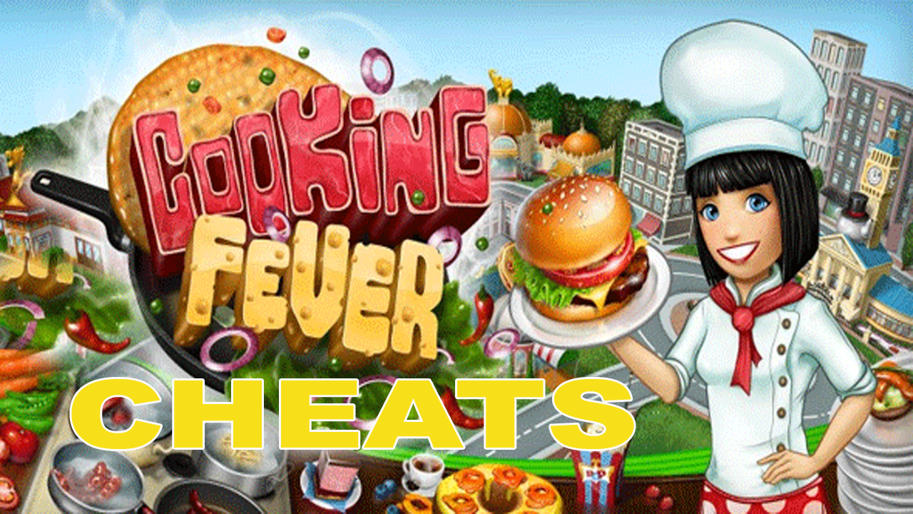 Cooking Fever Unlimited Gems and Coins cheats
