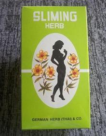 GeGe-Product: SLIMING HERB TEA from Thai German Herb : 50bags
