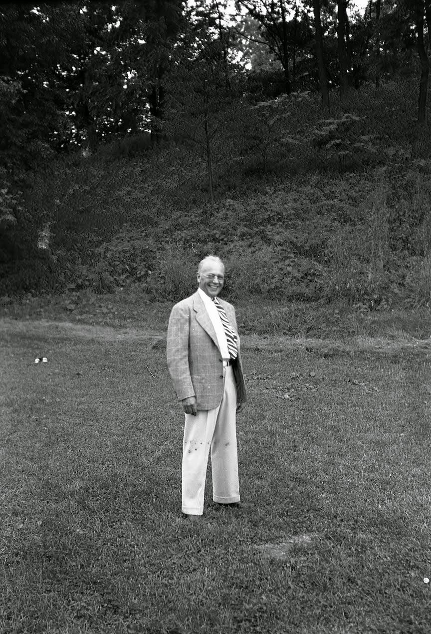 Grandpa Hoyt, 1947.
