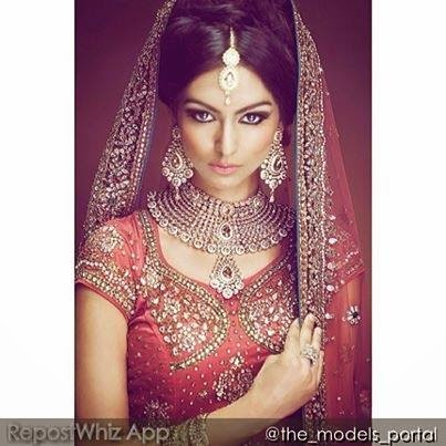 new Asian bridal makeup 2015
