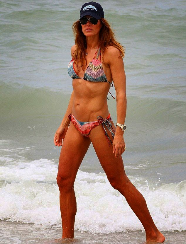 Kelly Bensimon wears Bikinis at Naples, Florida on Saturday, April 19, 2014