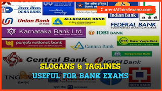 Slogans and Taglines of Banks in India