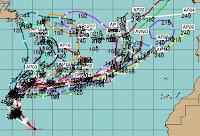 Tropensturm NADINE fast ein Hurrikan - Azoren potenziell bedroht, Azoren, Nadine, aktuell, Satellitenbild Satellitenbilder, Vorhersage Forecast Prognose, Hurrikansaison 2012, Atlantische Hurrikansaison, September, 2012,