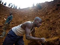 Mines d'or au Congo