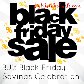 BJ's Black Friday Savings Celebration 2014