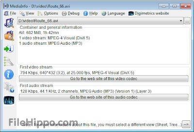 MediaInfo 0.7.64 Download Free