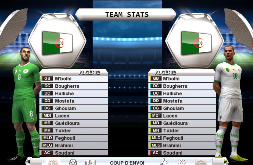 Algerie Dans FIFA 14 Tuto PC et PS3 - YouTube