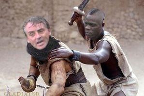 Balotelli y Mancini lideran los ejércitos de la guerra entre Grecia y Roma