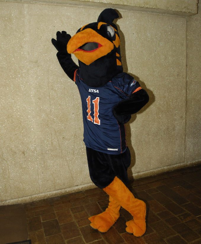 Rowdy Roadrunner UTSA Mascot University of Texas