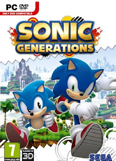 Sonic Generations PC Game (cover)