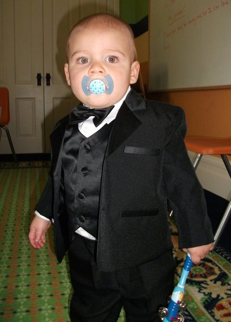 awesome wedding tux