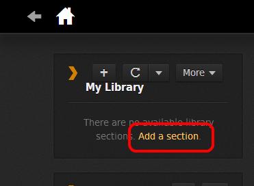 how to delete plex library