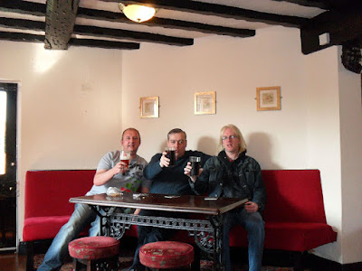 The WAR's first visit to The Greyhound, Swindon