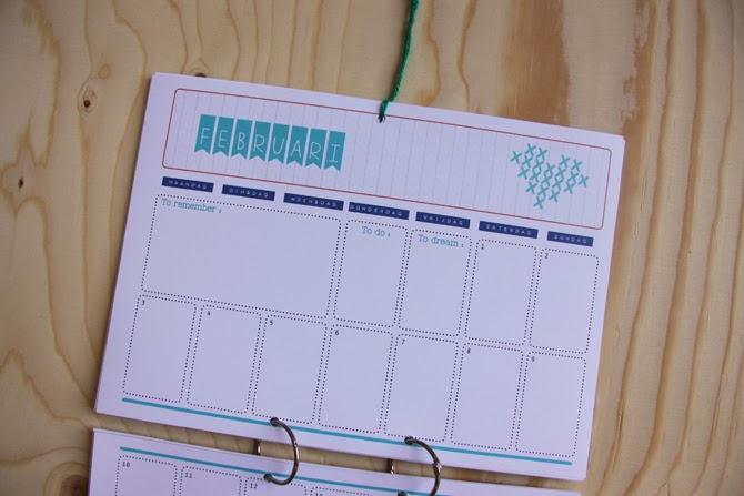 Calendar February - www.appelzee.com