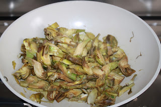 ricetta frittata di carciofi