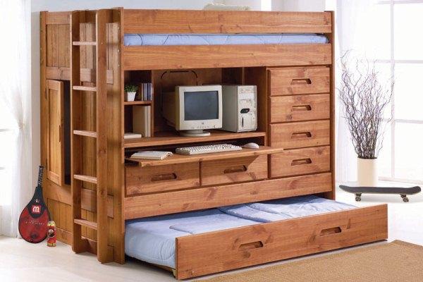 wooden bedroom furniture design photo