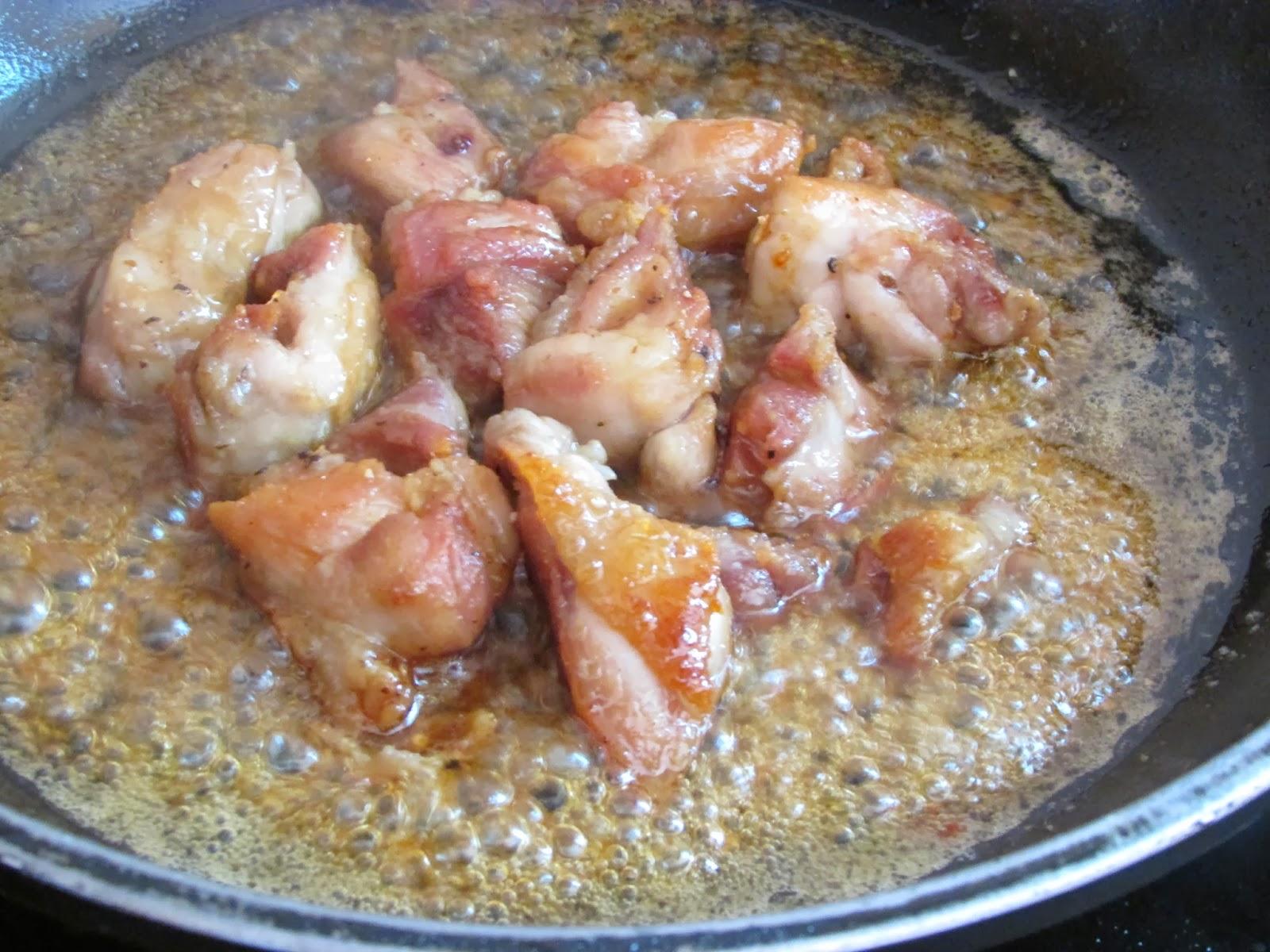 Pollo Con Salsa De Soja, Miel Y Limón