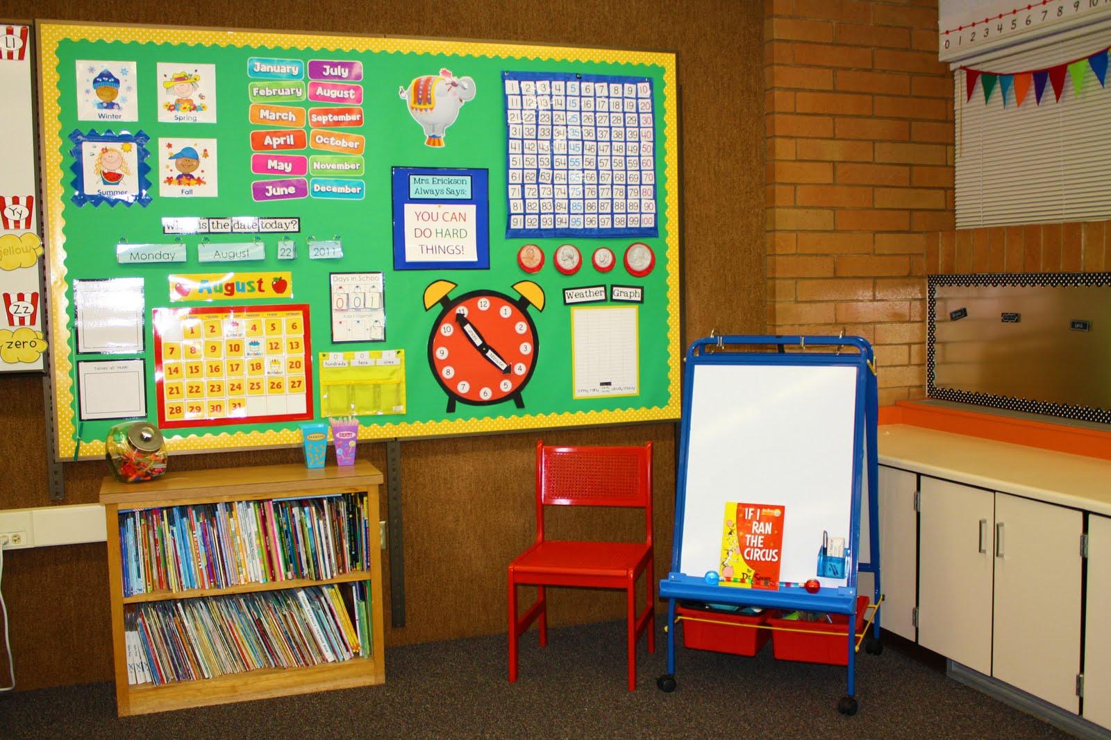 Calendar Time Kindergarten Ideas : The teacher wife calendar wall
