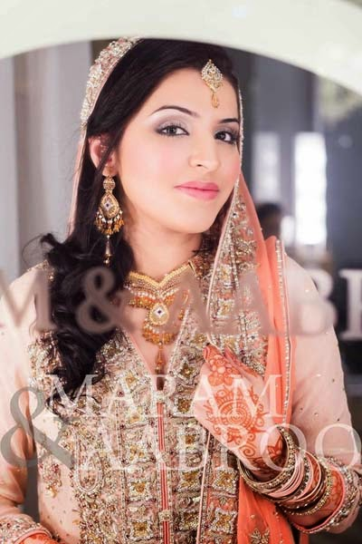 Pakistani bridal makeup 2015