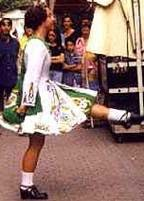 costume tradizionale irlandese