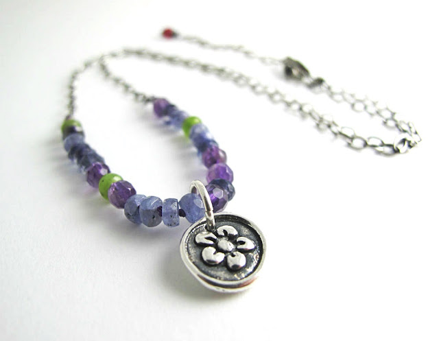 Farewell Summer Necklace by Beth Hemmila of Hint Jewelry