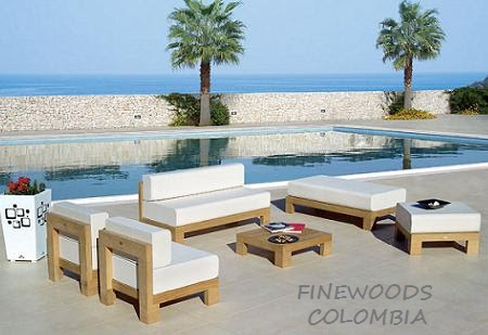 FINEWOODS COLOMBIA: MUEBLES EXTERIOR