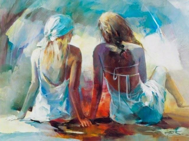 Романтические картины. Willem Haenraets