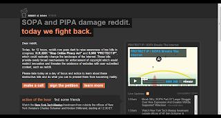Reddit in SOPA