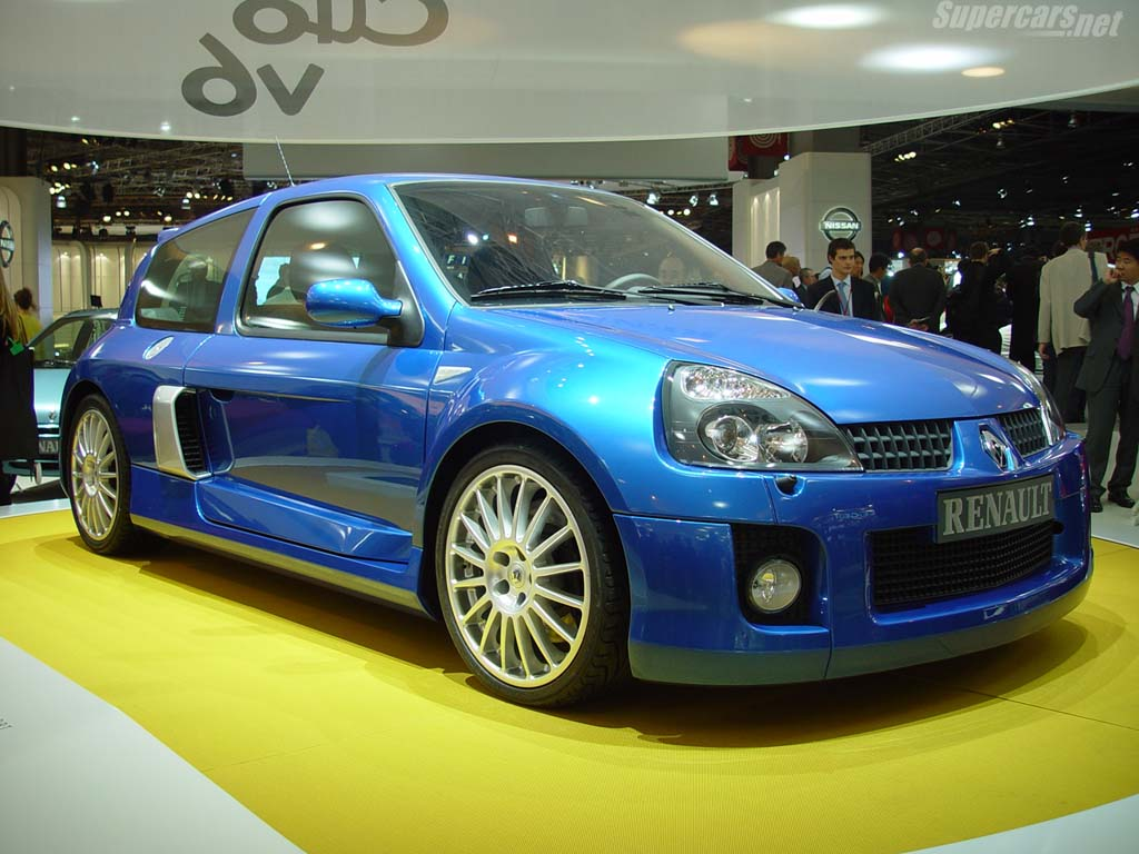 renault clio sport v6 new car price specification review images. Black Bedroom Furniture Sets. Home Design Ideas