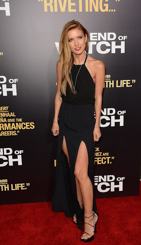 Audrina Patridge at End of Watch L. A. Premiere