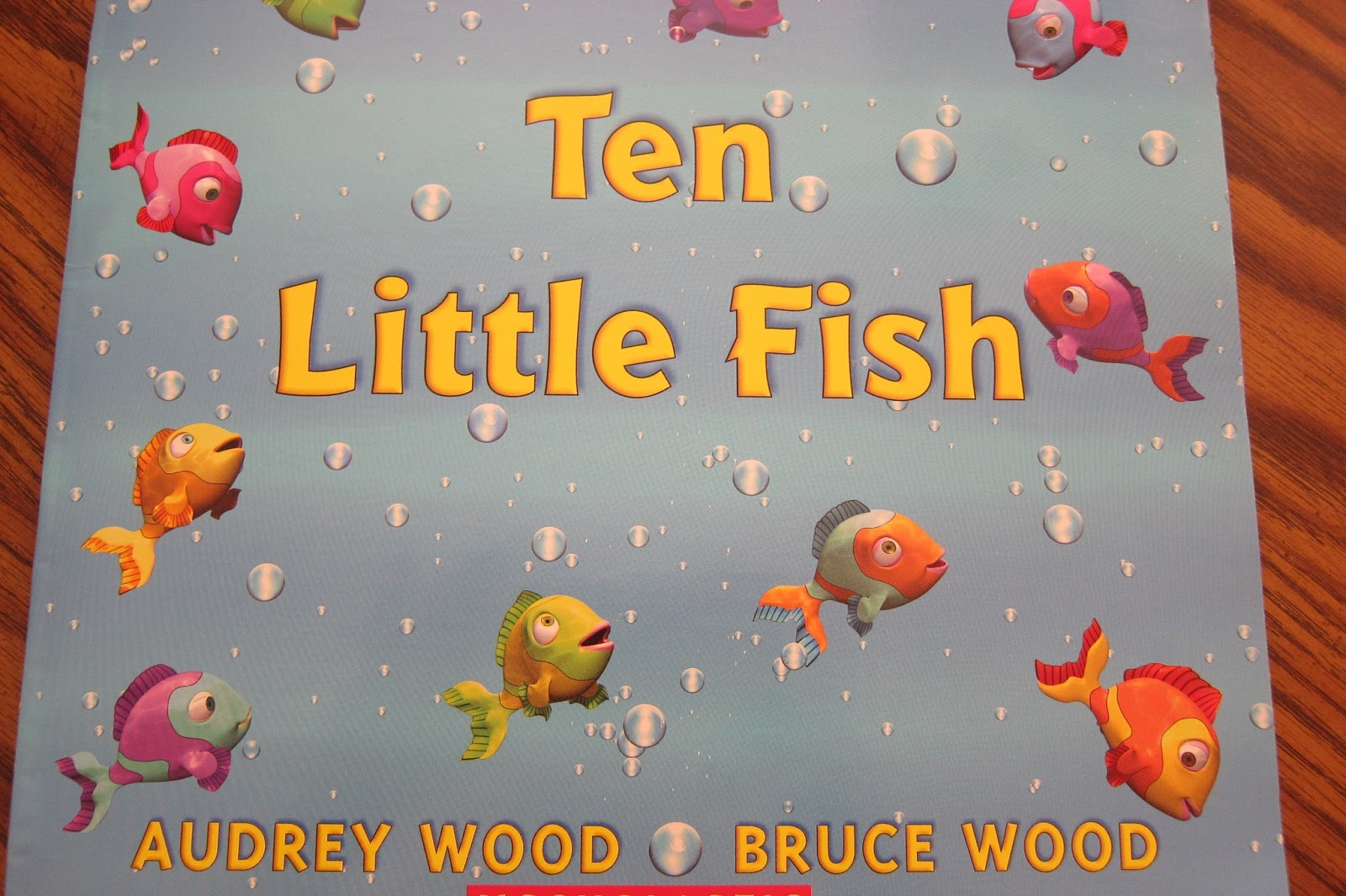 Welcome baby playgroup activity for Ten little fish