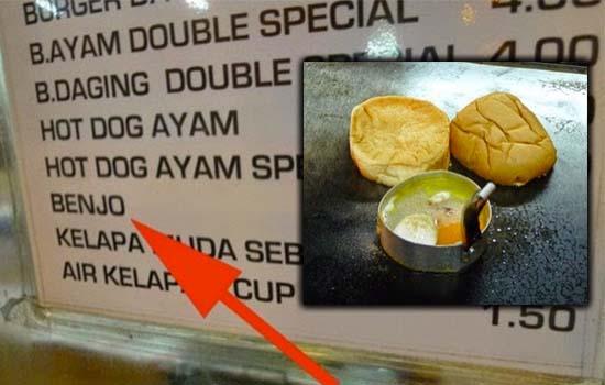 Kenapa Pelancong Jepun Ini Terkejut Dengan Burger Benjo?