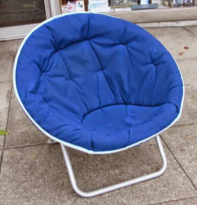 UHURU FURNITURE & COLLECTIBLES SOLD Fold Up Cushion Chair $10