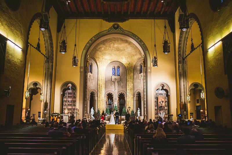 Saint Pascal's Wedding Ceremony Chicago