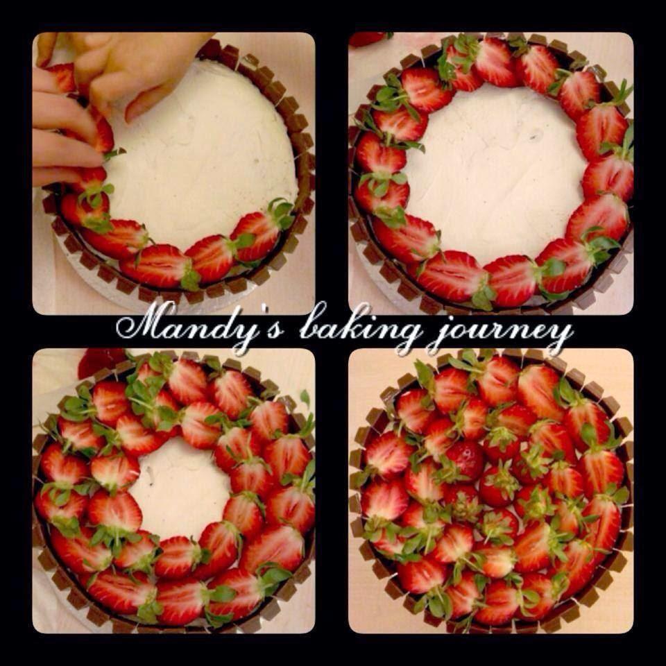 Mandy's Baking Journey Strawberry Decorations