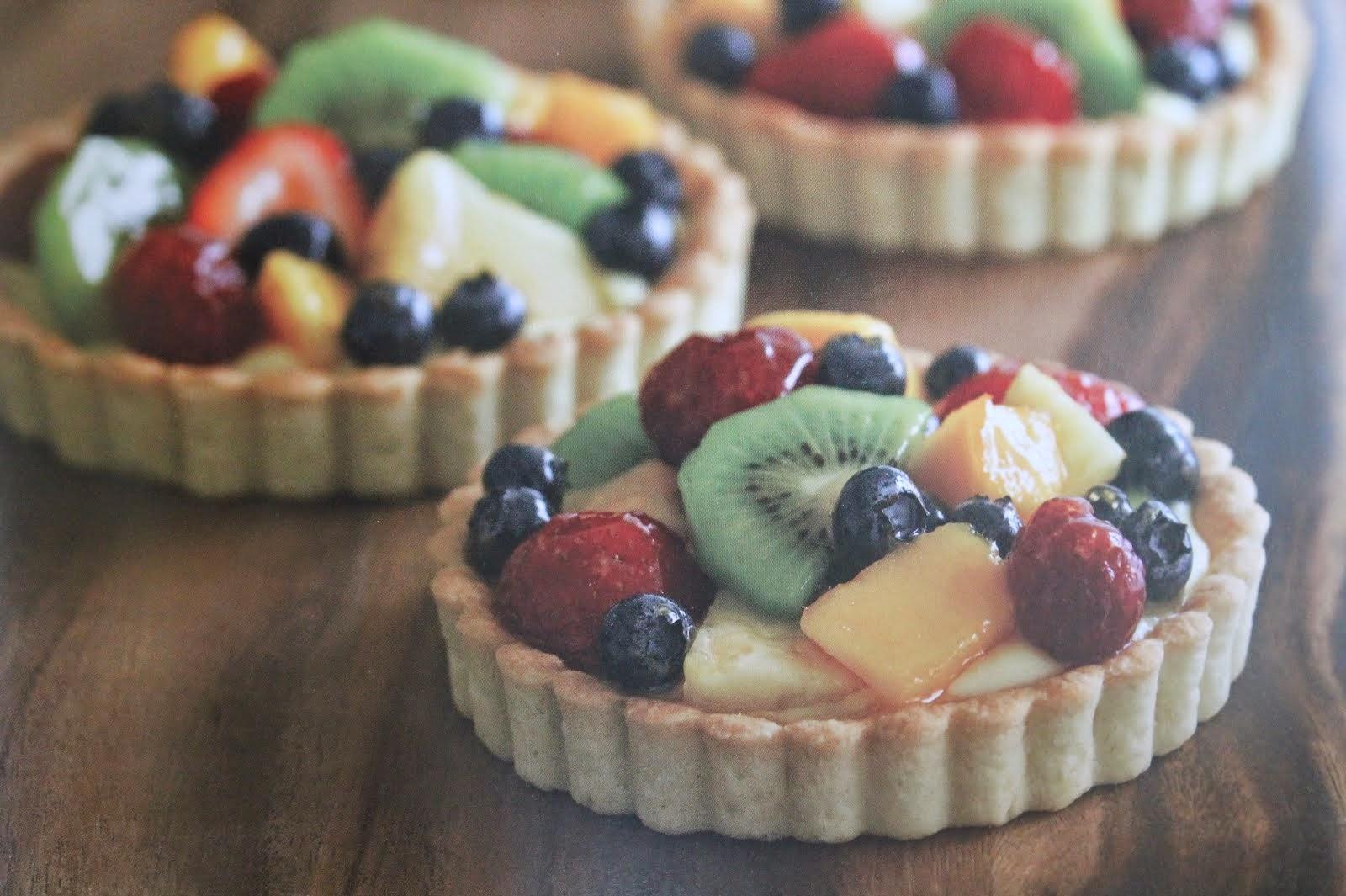 sweet fruit tarts