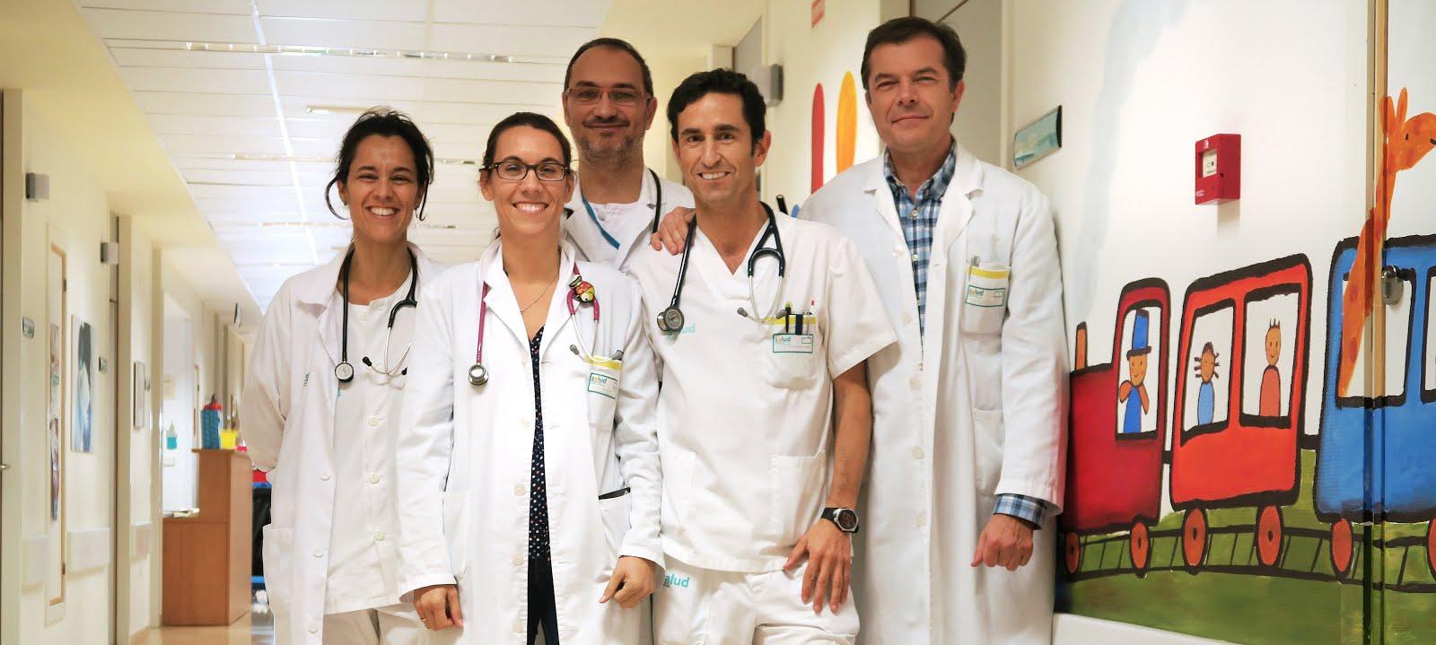 EQUIPO DE PEDIATRÍA DEL HOSPITAL DE BARBASTRO (Iniciativa Hospital Amigo de los Niños)