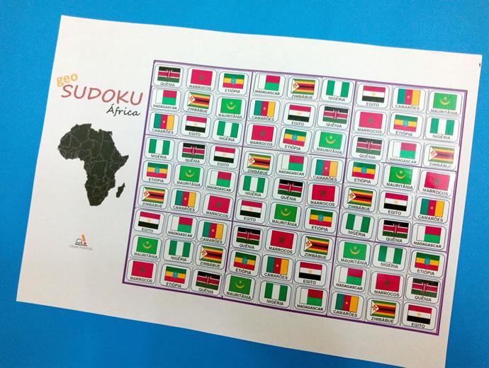 GeoSudoku África