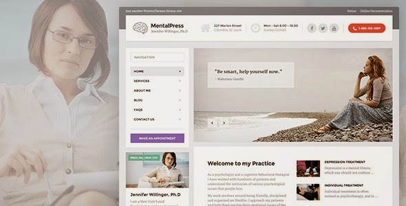 MentalPress - Psychiatrists WP Theme